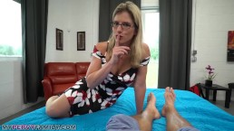Busty blonde mom Let's son creampie her pussy – REAL FAMILY PORN